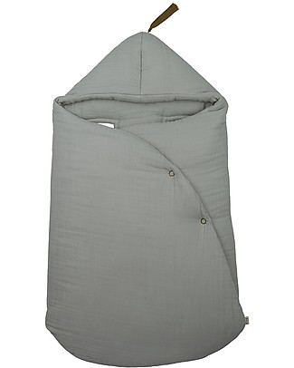 Numero 74 Gipsy Baby Nest, Silver Grey - Organic cotton Warm Sleeping Bags