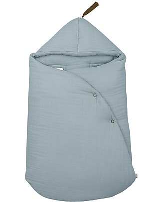 Numero 74 Gipsy Baby Nest, Sweet Blue - Organic cotton Warm Sleeping Bags