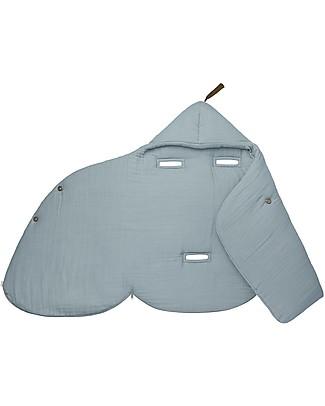 Numero 74 Gipsy Baby Nest, Sweet Blue - Organic cotton Warm Sleeping Bags
