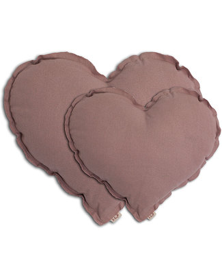 Numero 74 Heart Cushion Medium - Dusty Pink Cushions