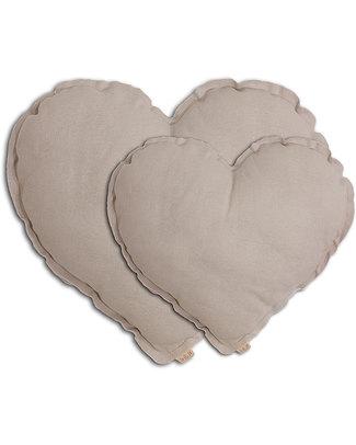 Numero 74 Heart Cushion Medium - Powder Cushions