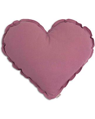 Numero 74 Heart Cushion Medium, Rosa Baobab Cushions
