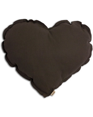 Numero 74 Heart Cushion Medium - Taupe Cushions