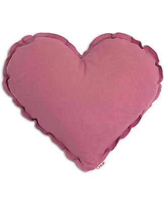 Numero 74 Heart Cushion Small - Baobab Rose Cushions