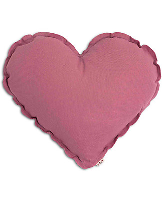 Numero 74 Heart Cushion Small - Baobab Rose null