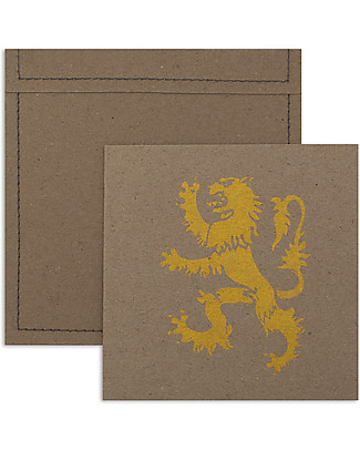 Numero 74 Invitation Cards with Envelopes, Pack of 6,  Knight/Gold Invitation Cards