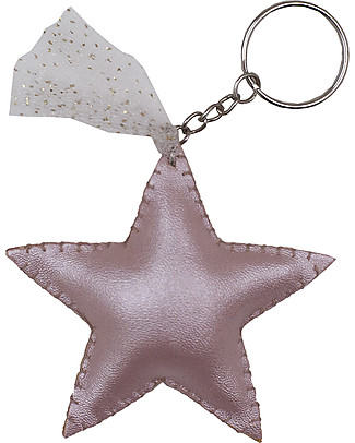 Numero 74 Iridescent Star Keychain - Pink - Perfect Gift! Party Favours
