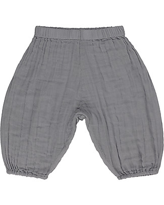 Numero 74 Joe Pants Baby, Stone Grey (9-12 months) - 100% organic cotton Shorts