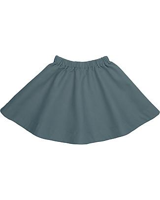 Numero 74 Julia Skirt Baby & Kid, Ice Blue (1-2 years) - 100% organic cotton canvas Skirts
