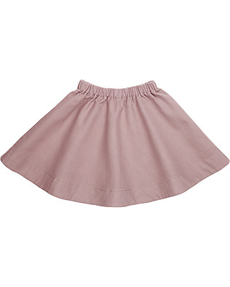 Numero 74 Julia Skirt Baby & Kid, Dusty Pink (1-2 years) - 100% organic cotton canvas Skirts