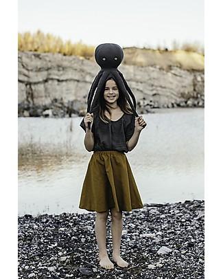 Numero 74 Julia Skirt Baby & Kid, Gold (3-4 years) - 100% organic cotton canvas Skirts