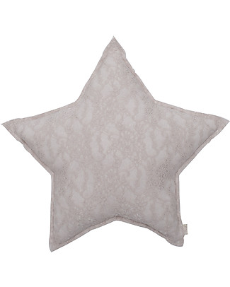 Numero 74 Lace Flower Star Cushion Small, Powder Cushions