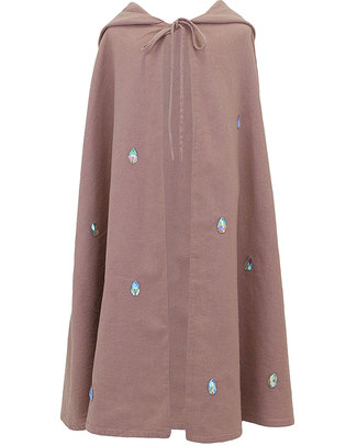 Numero 74 Leia Fancy Dress Cape - Dusty Pink – 100% Cotton Dressing Up & Role Play