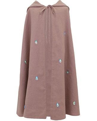 Numero 74 Leia Fancy Dress Cape - Dusty Pink - 100% Cotton null