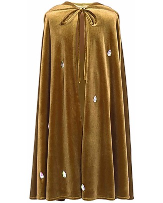 Numero 74 Leia Fancy Dress Cape -Gold Diamond - 100% Cotton  Dressing Up & Role Play