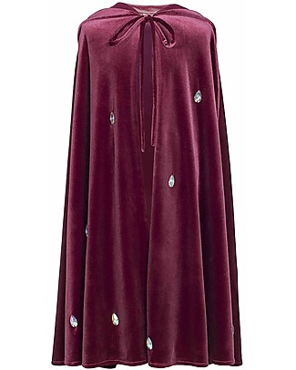 Numero 74 Leia Fancy Dress Cape - Red Macaron Diamond - 100% Cotton  Dressing Up & Role Play