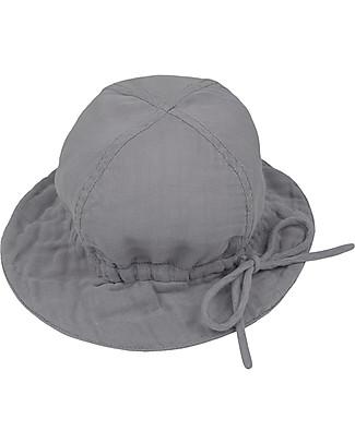 Numero 74 Lili Sun Hat, Stone Grey - 100% organic cotton Sunhats