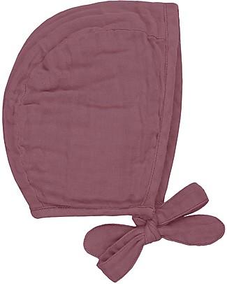 Numero 74 Lou Baby Bonnet, Baobab Rose (9-12 months) - 100% organic cotton Hats