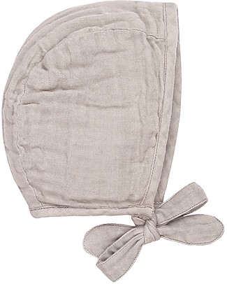 Numero 74 Lou Baby Bonnet, Powder (3-6 and 9-12 months) - 100% organic cotton Hats