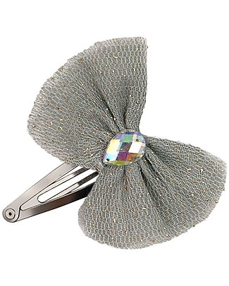 Numero 74 Luna Hair Clip Silver Grey - Perfect party favour Hair Accessories