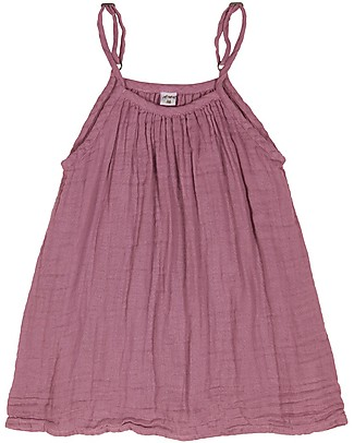 Numero 74 Mia Girl Dress, Baobab Rose (1-2 and 3-4 years) - Organic Cotton Muslin Dresses
