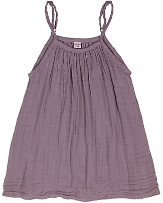 Numero 74 Mia Girl Dress - Dusty Lilac - 100% Muslin Cotton  Dresses