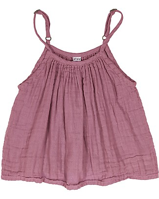 Numero 74 Mia Top Kid, Baobab Rose (5-6 years) - Cotton Muslin T-Shirts And Vests