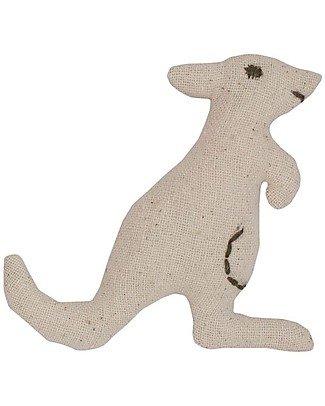Numero 74 Mini fabric animal, Kangaroo - Perfect party favour Party Favours