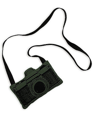 Numero 74 Mini Fabric Camera, Green - Perfect party favour Party Favours