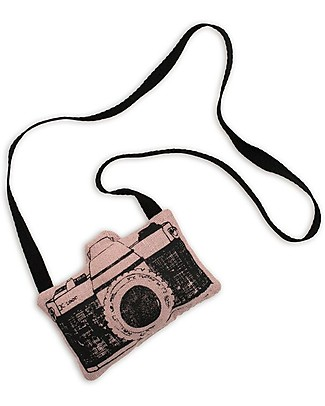Numero 74 Mini Fabric Camera, Pink - Perfect party favour Party Favours