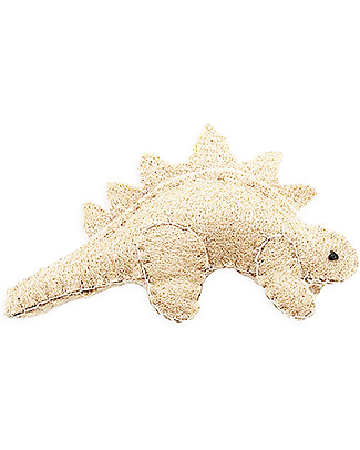 Numero 74 Mini Fabric Dinosaur, Ivory Stegosaur - Perfect party favour Party Favours