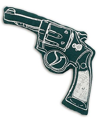Numero 74 Mini Fabric Gun - Dark Green - Perfect party favour null