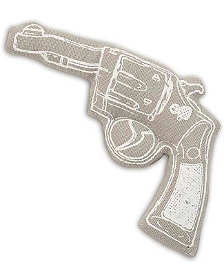 Numero 74 Mini Fabric Gun - Grey - Perfect party favour null