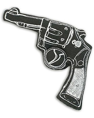 Numero 74 Mini Fabric Gun - Nero - Perfect party favour null