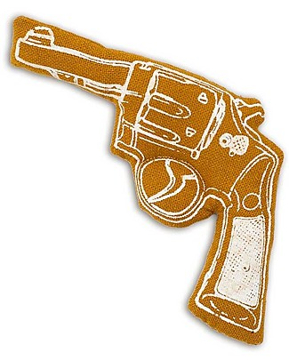 Numero 74 Mini Fabric Gun - Ocra - Perfect party favour null