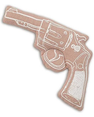 Numero 74 Mini Fabric Gun - Pale Pink - Perfect party favour null