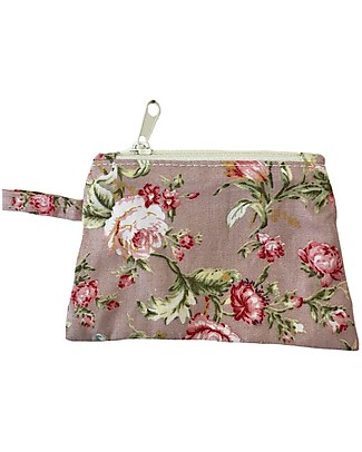 Numero 74 Mini Purse - Pink with Roses - Perfect Party Favour! Party Favours