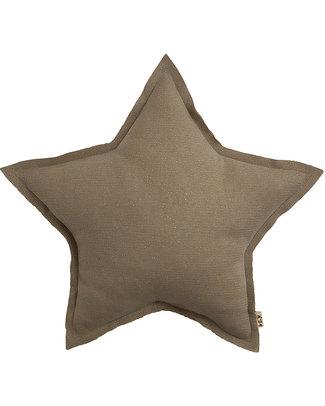 Numero 74 Mini Star Cushion - Beige Sparkling Tulle Cushions