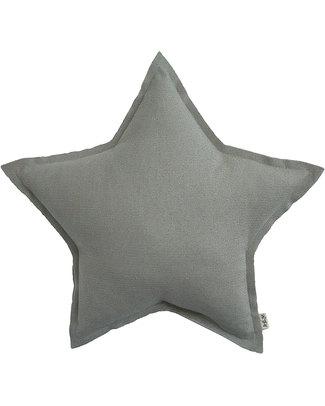 Numero 74 Mini Star Cushion - Silver Sparkling Tulle Cushions