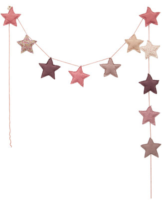 Numero 74 Mini Star Garland - Mix Pink Bunting