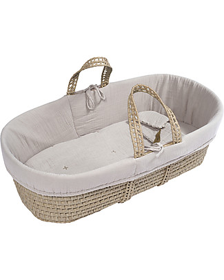 Numero 74 Moses Baby Basket - Powder Cribs & Moses Baskets