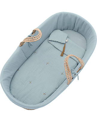 Numero 74 Moses Baby Basket - Sweet Blue Cribs & Moses Baskets