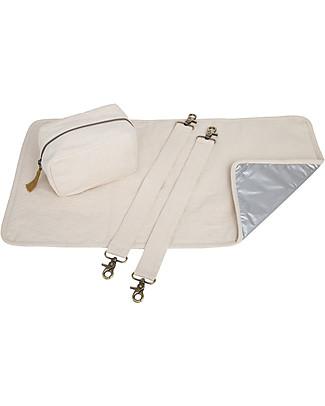 Numero 74 Multi Bag Baby Kit, Natural - Organic cotton Travel Changing Mats