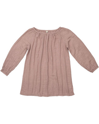 Numero 74 Nina Mum Tunic- Dusty Pink - 100% Muslin Cotton Dresses