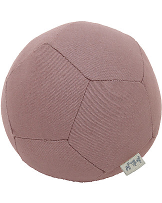 Numero 74 Pentagon Ball, Dusty Pink - Play and decorate Rattles