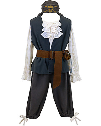 Numero 74 Pirate Costume Jack Set - Perfect for Halloween and Parties - 6-8 years Dressing Up & Role Play