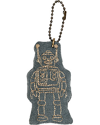 Numero 74 Robot Keychain - Ice Blue - Perfect Gift! null