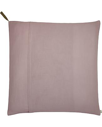 Numero 74 Square Pillow Case 65x65 cm, Dusty Pink - 100% organic cotton Duvet Sets