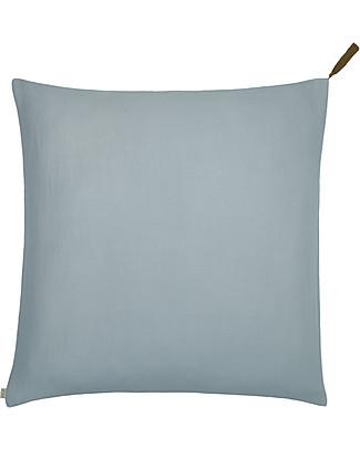 Numero 74 Square Pillow Case 65x65 cm, Sweet  Blue - 100% organic cotton Duvet Sets