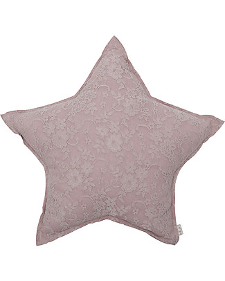 Numero 74 Star Cushion Small - Cozy Lace - Dusty Pink - New Bohemian Collection Cushions